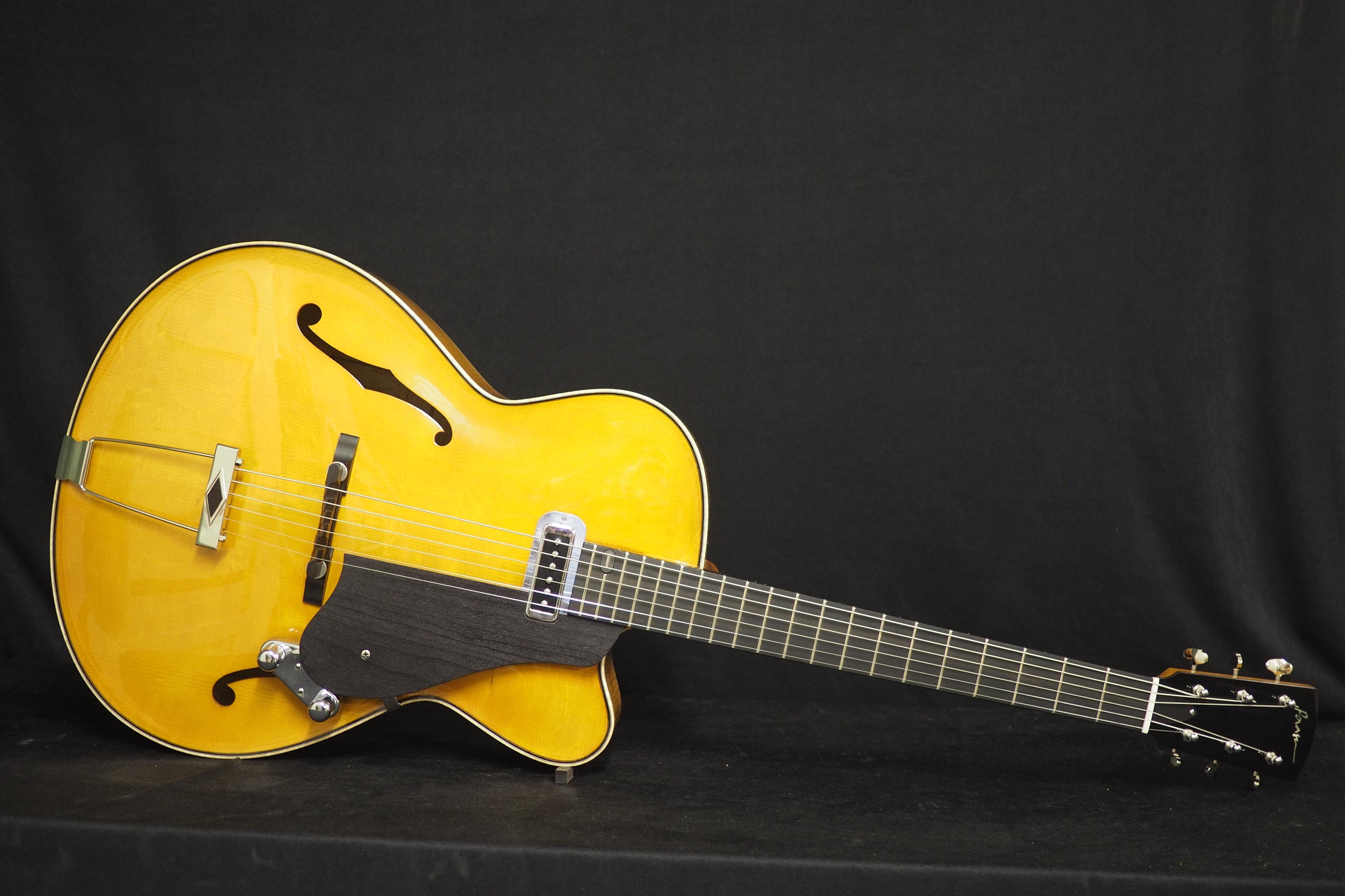 Jazz kitara käsintehty